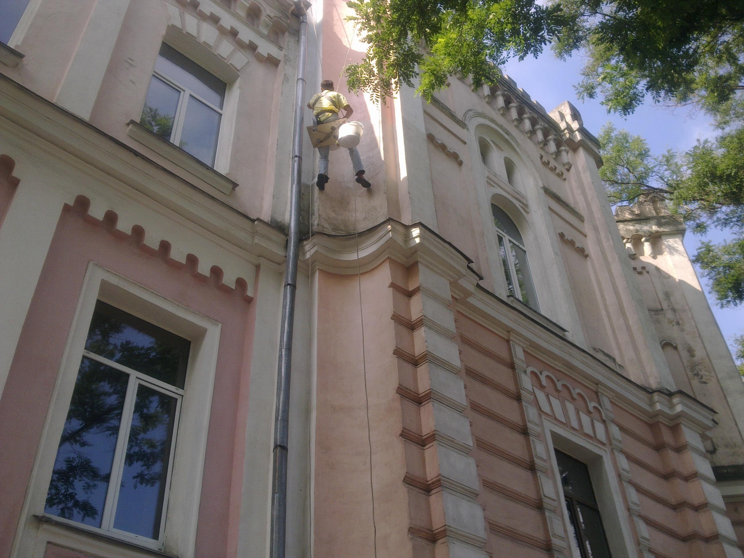 Штукатурка фасадов при отрицательной температуре