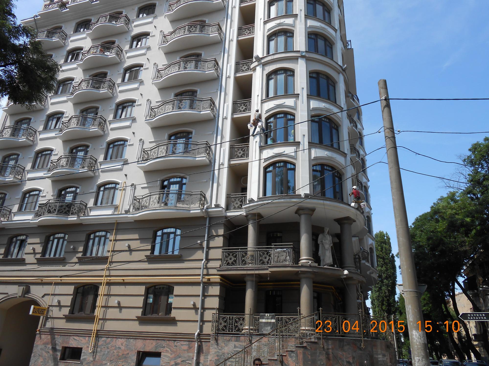 мойка фасадов зданий prom-alpinizm.com.ua